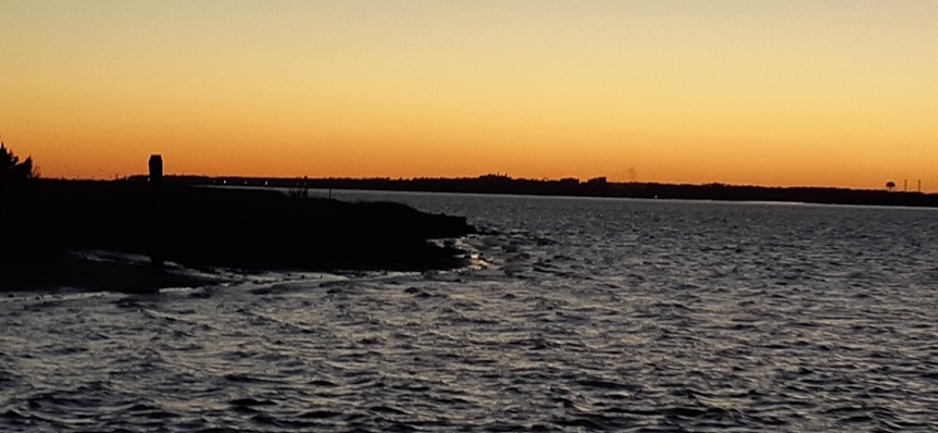 Southport Fort Fisher Ferry atSunset